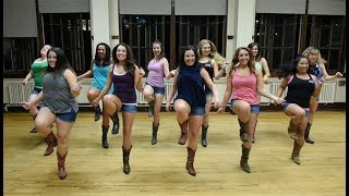 Luke Combs -Honky Tonk Highway Line Dance  (Featuring Boot Boogie Babes)