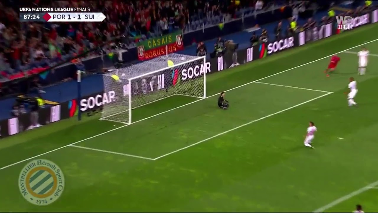ronaldo 2nd goal portugal vs switzerland 2-1