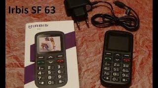 мобильный телефон Irbis SF63 : обзор и отзыв