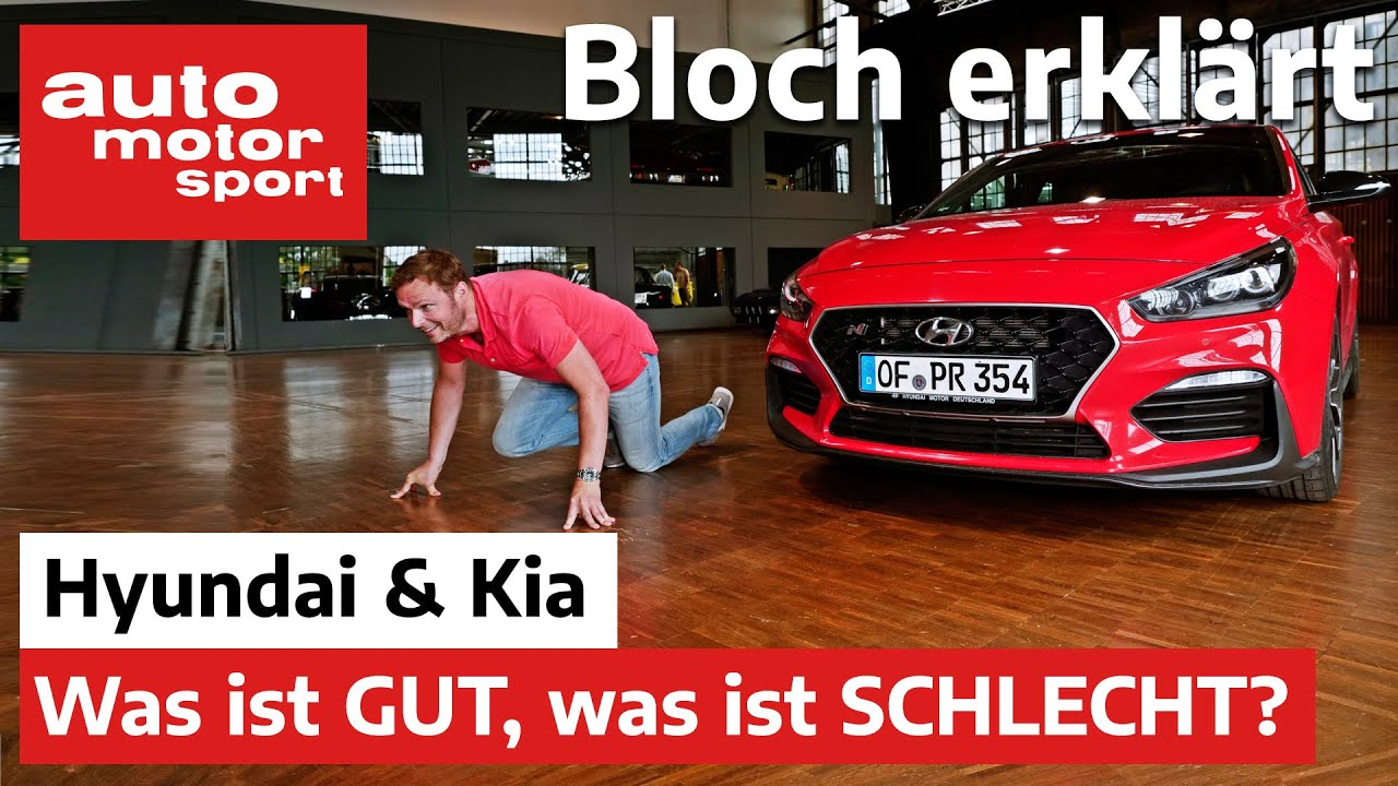 Auf der Überholspur? Die Stärken und Schwächen von Hyundai & Kia - Bloch erklärt #104 | ams