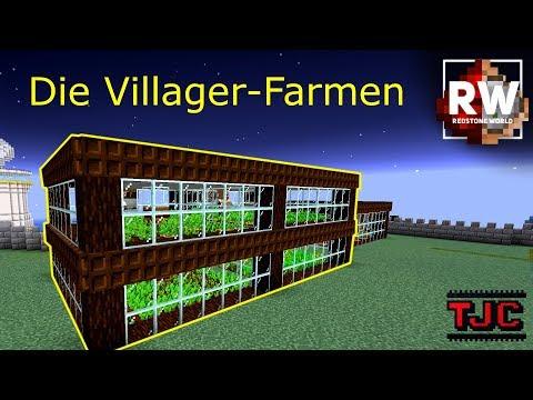 die-ertrÄglichen-villager-farmen---redstone-world-ep.-81