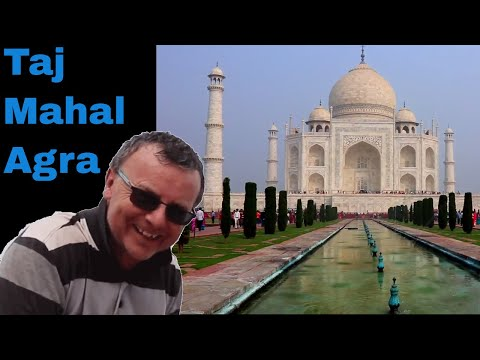 Taj Mahal India Video in Agra, Taj Mahal Travel Tips, when to visit, avoid queues & security.