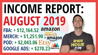 PASSIVE INCOME REPORT 💰 August 2019 | +$15,729.71 Profit (WITHOUT Quitting My Day Job!)