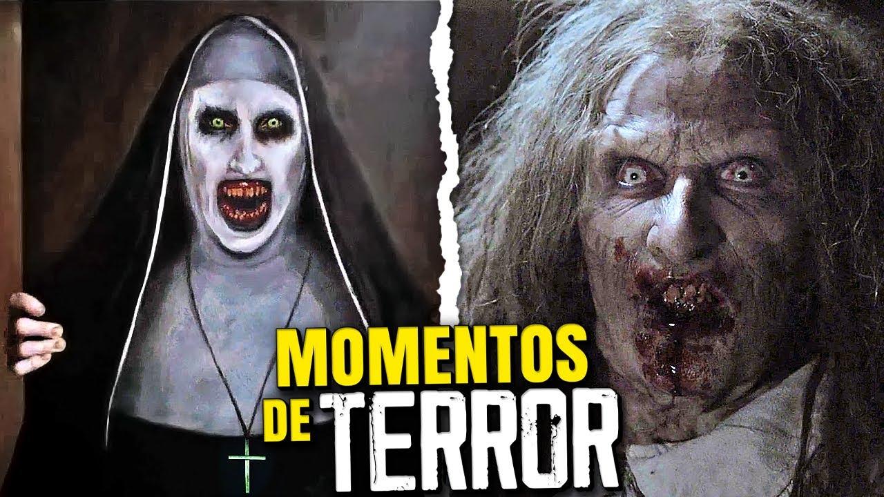 Los 10 Momentos Más ATERRADORES de EL CONJURO 1, 2 y 3
