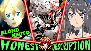 Every Anime of Fall 2018 - Honest Anime Descriptions