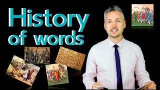 The Origin of English Words (English Etymology)