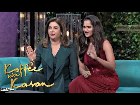 Koffee With Karan Season 5 Sania Mirza And Farah Khan On Couch Mp3