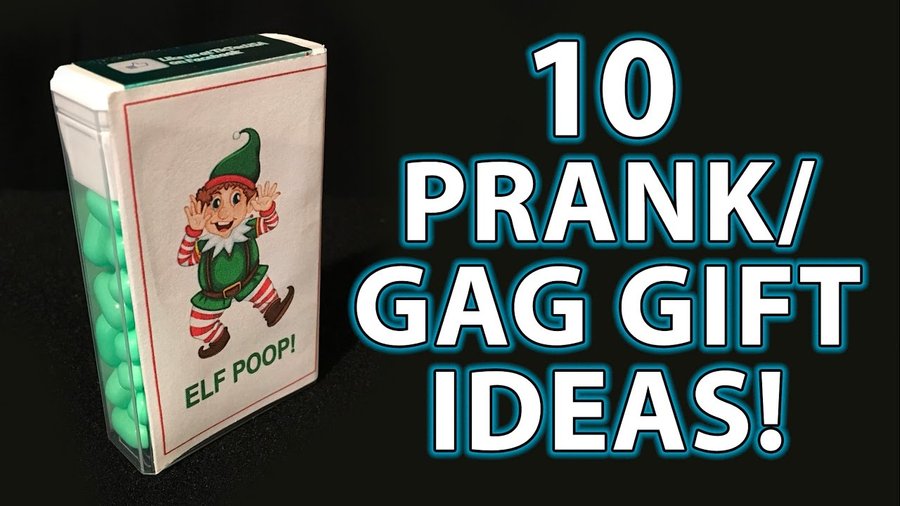 10 TOP LAST MINUTE Holiday Gag Gifts! (DIY Stocking Stuffers!) - YouTube