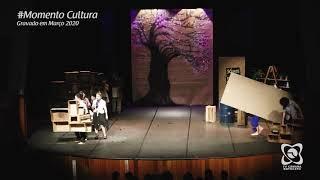 """Momento cultura - """"Nasce a cidade Locomotiva"""" (Locomotiva - Teatro SENAC)"""