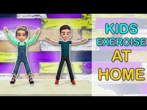 Kids Exercises To Lose weight: Home Activities