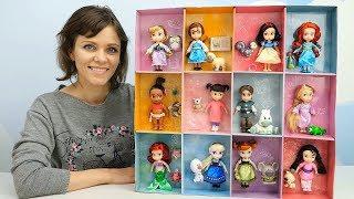 Куклы для девочек - Развивающее видео для детей про Детский Сад и Куклы Дисней Аниматорс