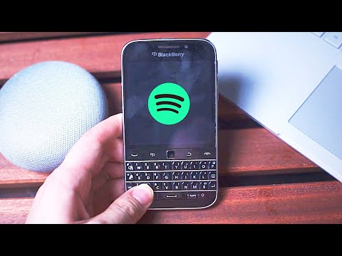 Blackberry Classic Working Android Apps 2020 - Spotify And More!