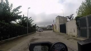 Marotta (Pesaro) Zona mare strada massacrata