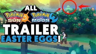 Pokemon Sun and Moon Trailer: Easter Eggs, Things Missed and Breakdown