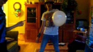 popping the last balloon