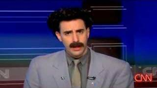 Borat Interview on (American) CNN