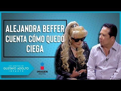 ¿Cómo quedó ciega Alejandra Beffer?