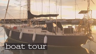 'BOATLIFE a tour of our SMALL 34ft floating home Caladh' | The Sailing Nomads - Ch.7