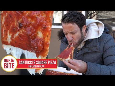 Barstool Pizza Review - Santucci's Original Square Pizza (Philadelphia)