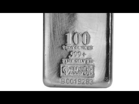 APMEX Silver Bars | 100 oz Silver Bar - Republic Metals Corporation (RMC)