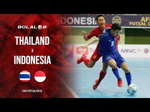 Dramatis Thailand Vs Indonesia   Highlight Aff Futsal
