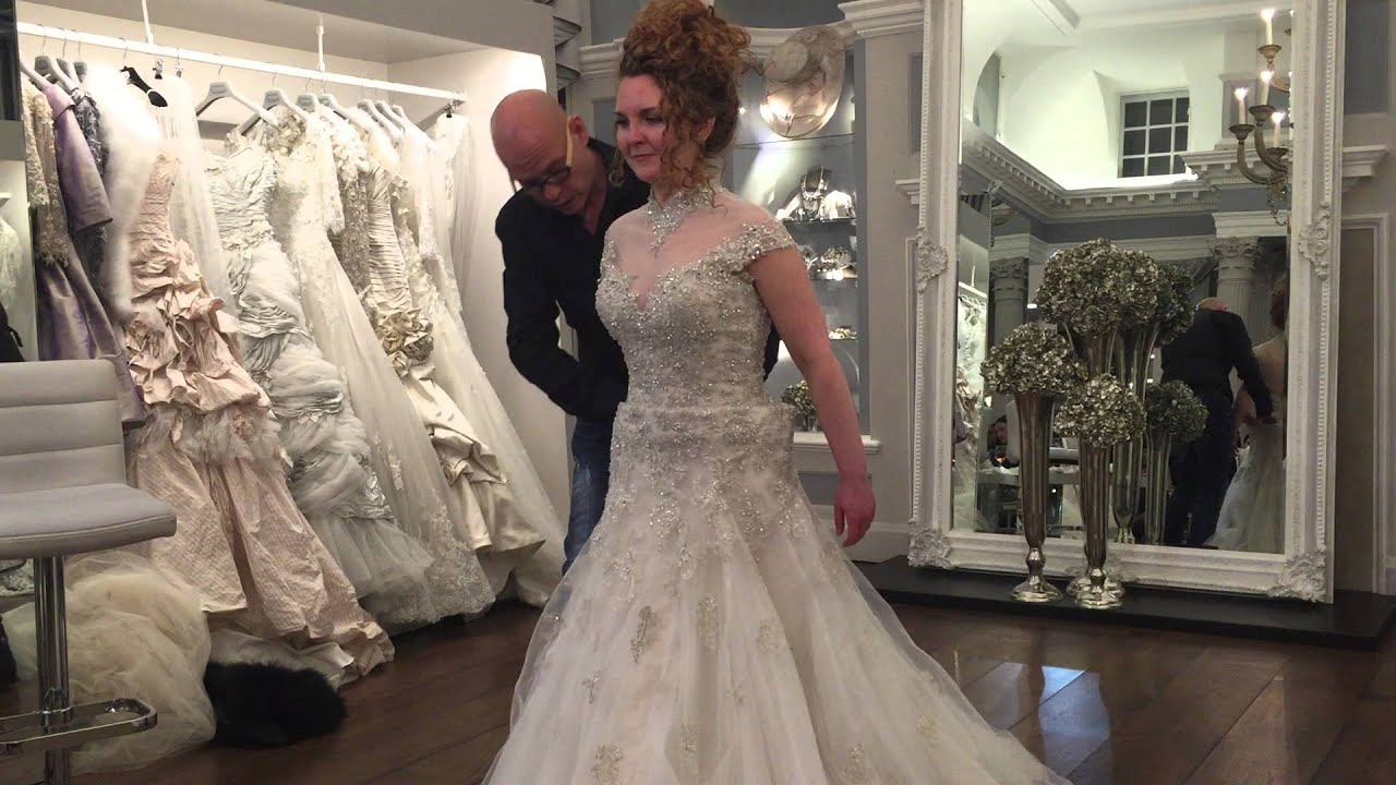 Ian Stuart Wedding Dress Alterations - YouTube