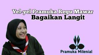 """Yel-yel Pramuka Regu Mawar """"BAGAIKAN LANGIT"""" Cover Lagu Potret Lirik Versi Pramuka"""