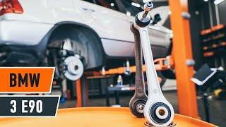 Hoe Draagarm wielophanging vervangen BMW 3 (E90) - video gratis online
