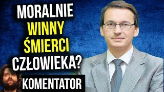Mega Oskarżenie w TVP Info - Premier Morawiecki Moralnie Winny Śmierci Polaka ? - Komentator