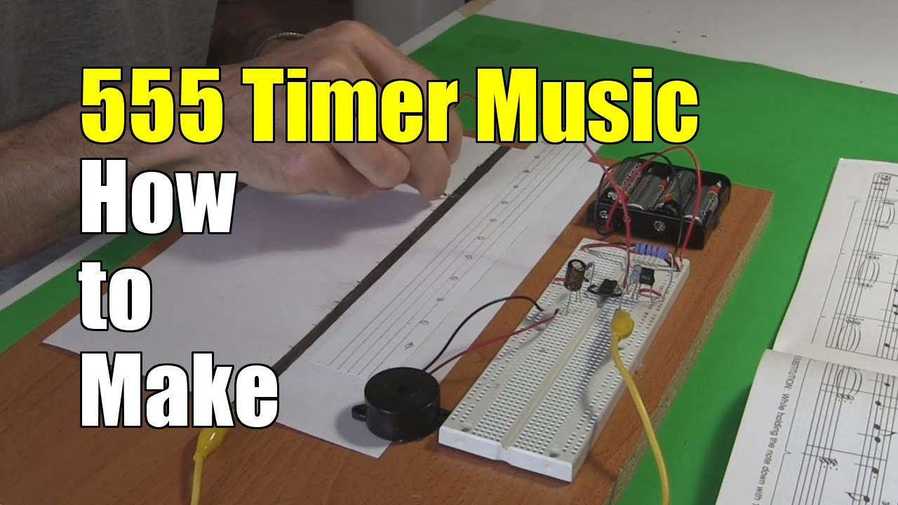 555 Timer Music Instrument How To Make Youtube The Monostable Circuit Electronics In Meccano