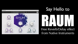 Say HELLO To RAUM: Free Reverb Plug-In From Native Instruments!