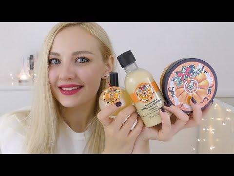 The Body Shop Haul feat Vanilla Pumpkin Range