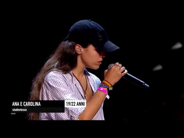 Estas dos chicas españolas han levantado al público de X Factor Italia