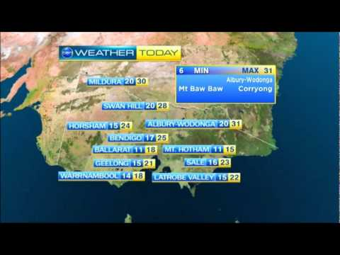Ten  at Five Melbourne 24111  Weather