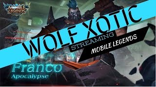 [LIVE]RANKING UP TO MYTHICCC 100 🌟! WOLF XOTIC | MOBILE LEGENDS