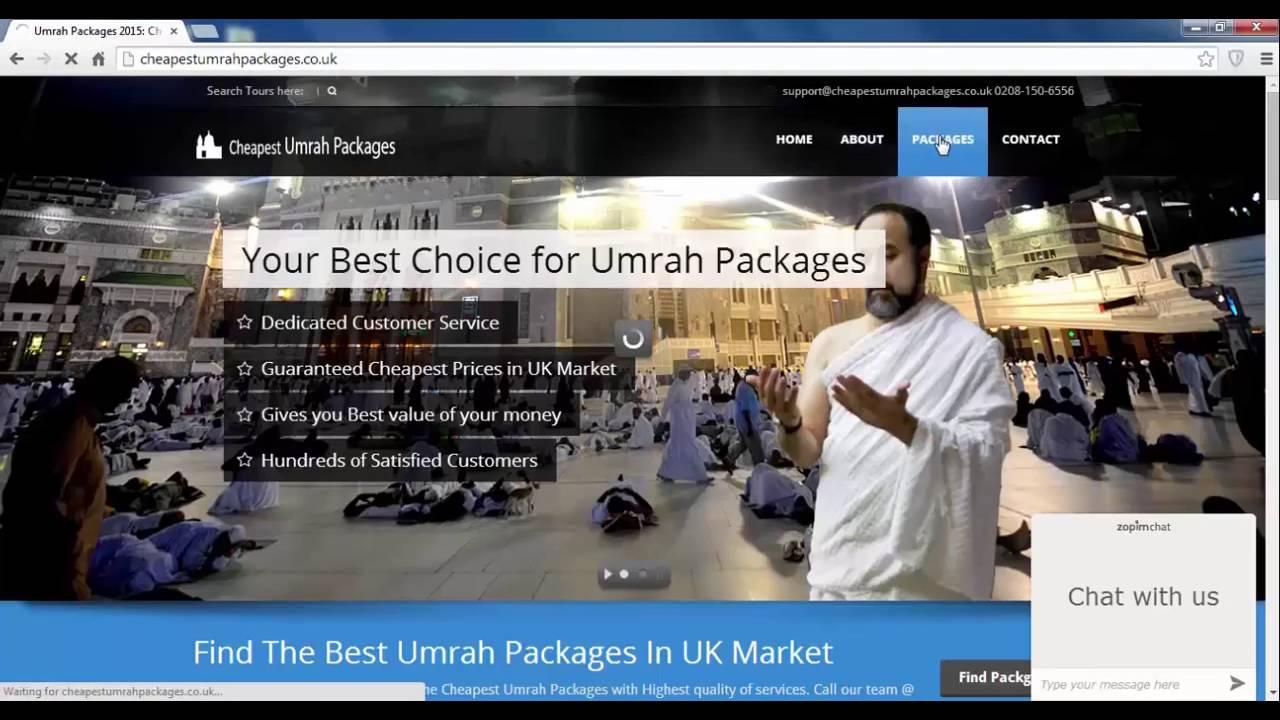 Cost Of Umrah Visa Fees 2019 2020: Cheap Umrah Packages 2020