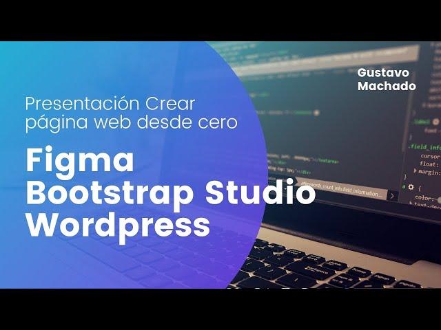 Crear una pagina web desde cero (Introducción) Figma y Bootstrap Studio