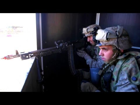 Fifty U.S. Marines Fight Against An Australian Army Brigade In Simulated Combat