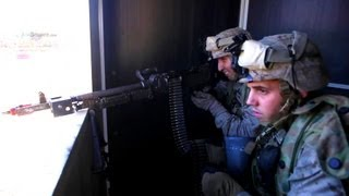 fifty u s marines fight against an australian army brigade in simulated combat