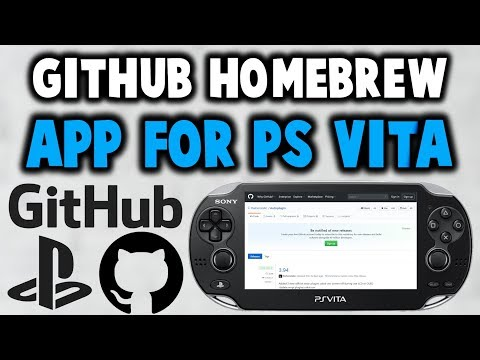 GitHub Homebrew App For PS Vita! - YouTube