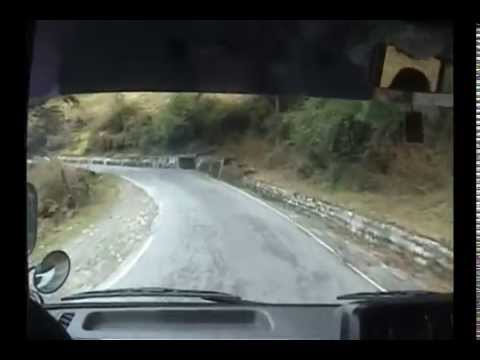 Journey from Phuentsholing to Thimphu by Bus
