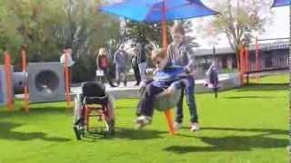 Minnesota Inclusive Playground With Sensory Play