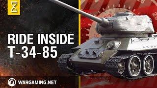Zapętlaj Inside the Chieftain's Hatch: T-34-85, Episode 2 | World of Tanks North America
