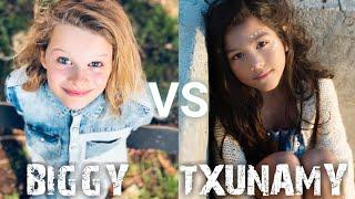The Norris Nuts - Biggy VS Txunamy - TIKTOK COMPILATION
