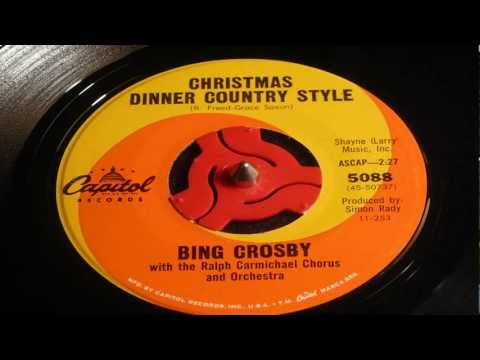 Christmas 45's - Christmas Dinner Country Style - Bing Crosby