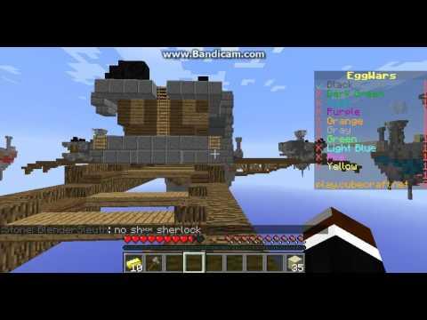 Cubecraft eggwars flying hack + crouch running