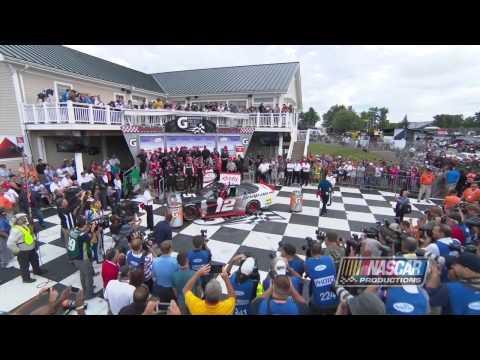 Joey Logano Wins NASCAR Xfinity Race at Watkins Glen