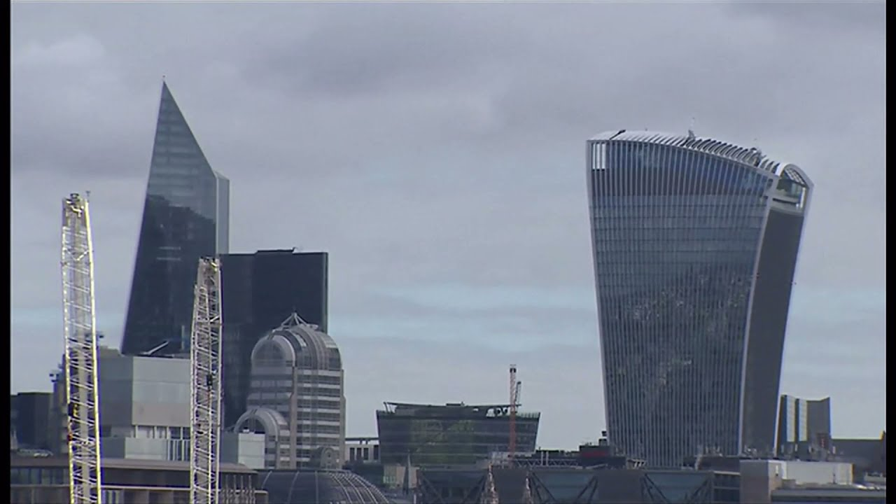 Skyscrapers for London applications increasing (UK) – BBC London News