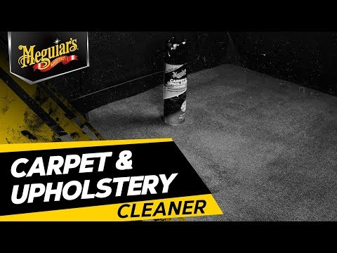Meguiar's Carpet & Upholstery Cleaner – Car Upholstery Cleaner & Fabric Cleaner