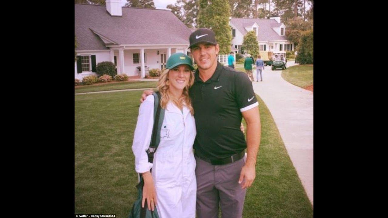 Joe Buck misidentified Brooks Koepka's girlfriend Jena Sims as his ex, Becky ...